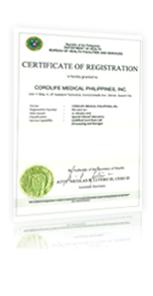 DOH Certificate