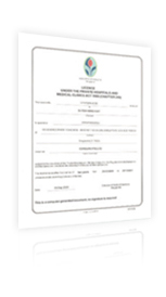 Ministry of Health Certificate