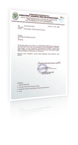 DEPKES Certificate