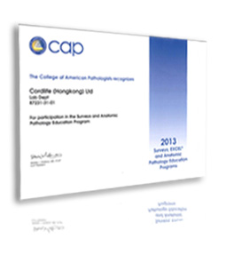 CAP Accreditation